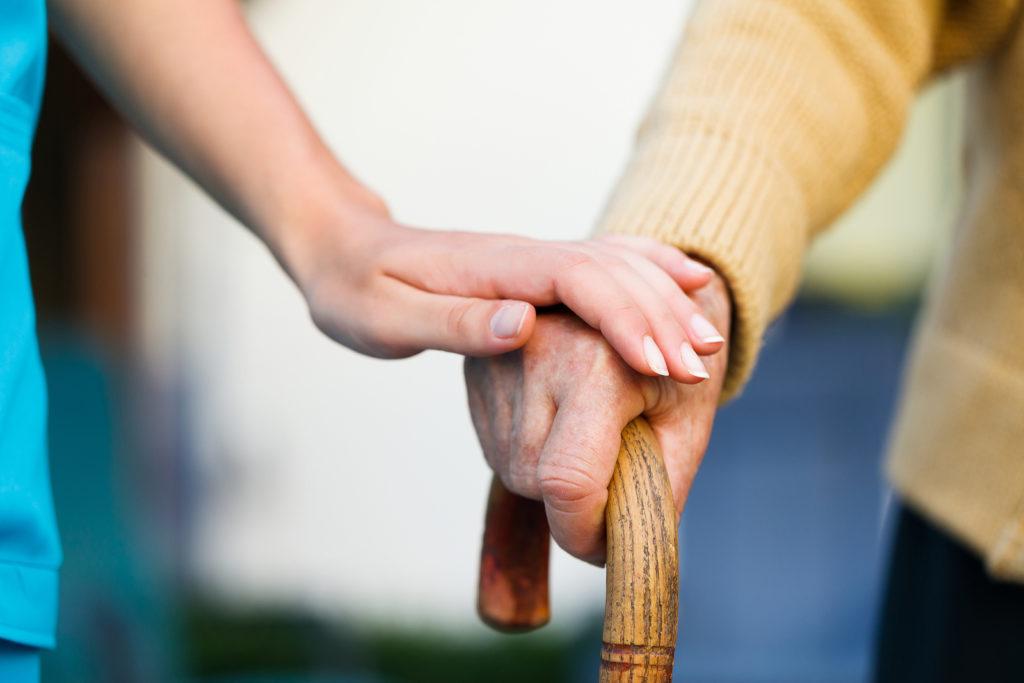 Уход за пожилыми и инвалидами